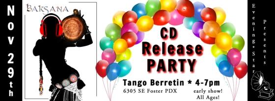 Baksana CD Release image